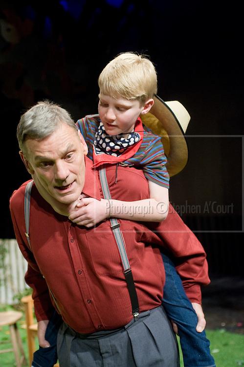 Dino Karsinidis & Jeffrey Thomas in All My Sons at Circa Theatre.