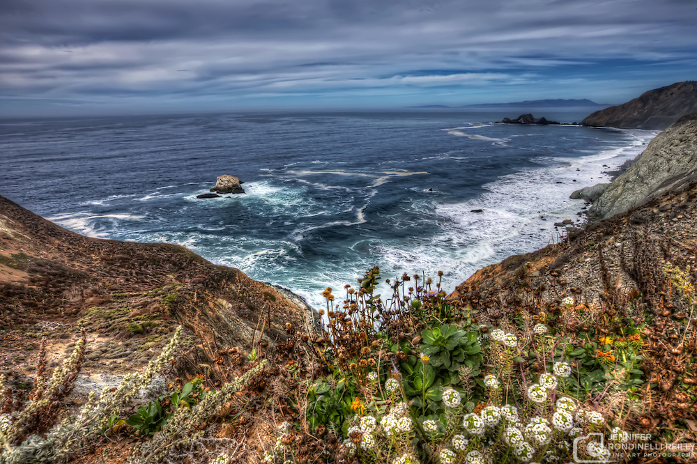 Views of and from Devil's Slide on the coast of San Mateo County between Pacifica and Montara. Photo by Jennifer Rondinelli Reilly.