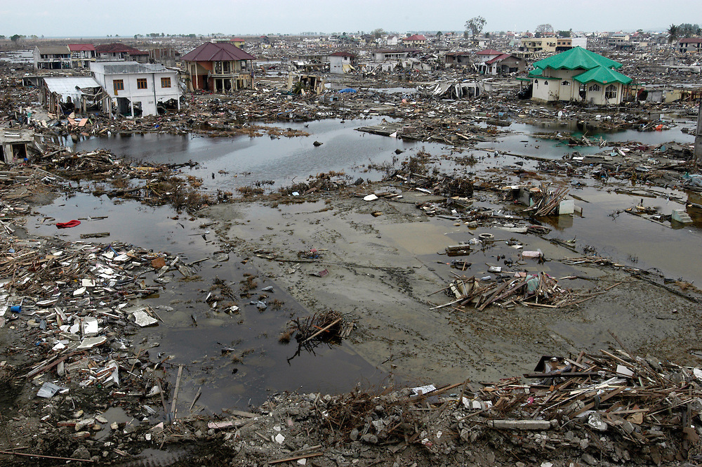 On December 26th, 2004 a Tsunami devastated the city of Banda Aceh leaving many thousands of people dead and millions homeless.