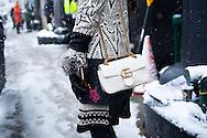 Gucci Bag and Desigual Coat, Outside Desigual FW2017