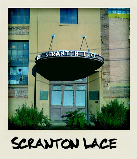 The Abandoned Scranton Lace Company in Scranton PA.