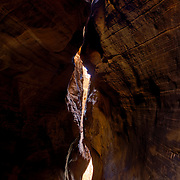 Southern Utah slickrock and slot canyons.