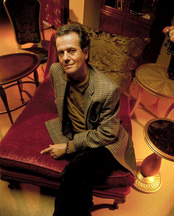 French Celebrity Interior Designer Jacques Grange