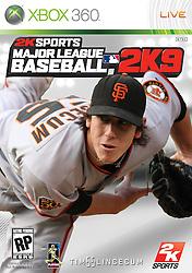 Tim Lincecum, MLB 2K9, 2009