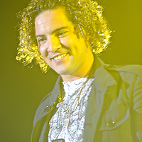 Latin Grammy-winning Spanish pop singer David Bisbal performs at the Figali Convention Center in Panama City (Panama) , part of  his Latin American tour.