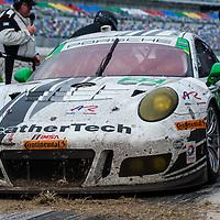 #22 Alex Job Racing Porsche 991 GT3 R: Cooper MacNeil, Leh Keen, Shane van Gisbergen, Gunnar Jeannette, David MacNeil