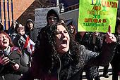 CANADA, Windsor: Islamophobia Demonstration
