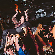 Riverboat Gamblers performs at Red Bull Sound Select Presents Dallas, at Three Links in Dallas, TX, USA on 26 June, 2015.