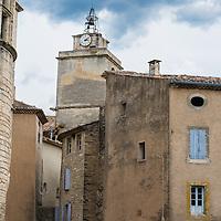 Clock Tower in Gordes, France