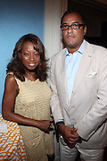 1 July 2010, New York , NY- l to r: Star Jones and Herb Wilson at the Mayor's Cricket Cup Tournament Presentation sponsored by Moet Hennessey held at Gracie Mansion on July 1, 2010 in New York City. Photo Credit: Terrence Jennings/Sipa