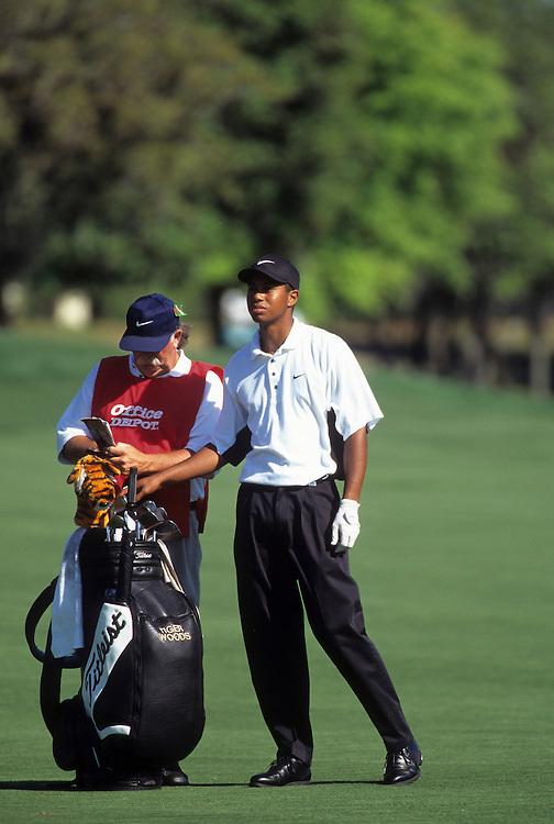 Tiger Woods at the 1997 Bay Hill Invitational held at Bay Hill Golf Club in Orlando, Florida.