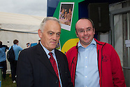 Macra na Feirme and Simon Coveney at National Ploughing Championships, at Ratheniska, Co. Laois.