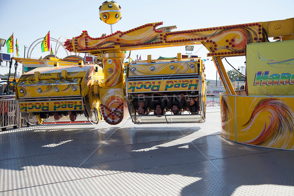 carnival ride at a state fair in New Mexico
