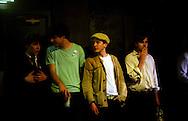 Boys at a Central London club