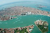 Seaplane over Venice