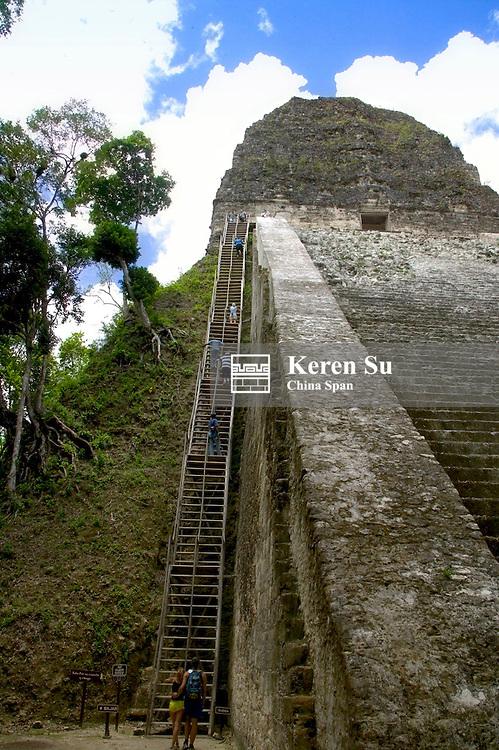 Temple V, Tikal Ruins, Guatemala