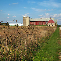 A collection of Barns that still can be seen while traveling the countryside in  the beautiful State of Wisconsin.<br /> Fond du Lac County- big red barn Memorial Drive and NE of Lindsey Lane.