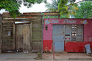 Domino club in Mayari, Holguin, Cuba.