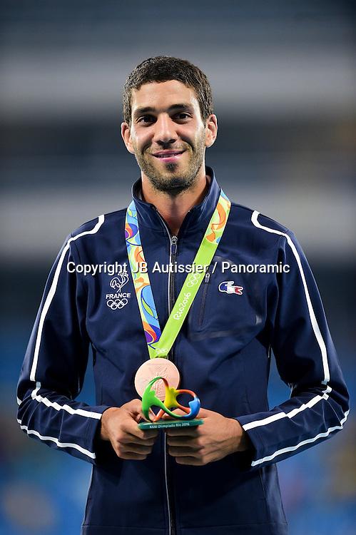 MEKHISSI Mahiedine (fra) - podium 3000m steeple<br /> medaille de bronze