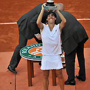 Schiavone wins her first title