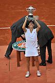 Schiavone wins her first title