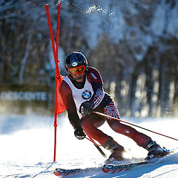 Giant slalom race BMW Master's series at Mont Sutton 2010