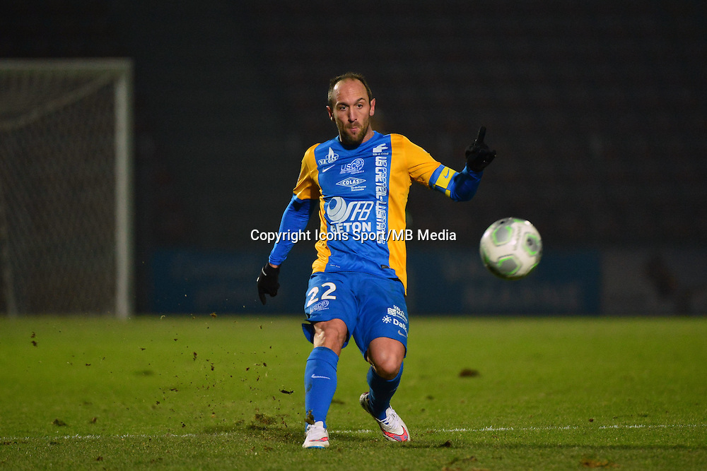 Jean Michel LESAGE - 23.01.2015 - Creteil / Laval - 21eme journee de Ligue 2<br /> Photo : Dave Winter / Icon Sport