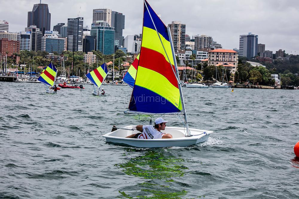 The Extreme sailing Series 2016. Act 8. Sydney. Australia . Day 3. Image licensed to Jesus Renedo/Lloyd Images