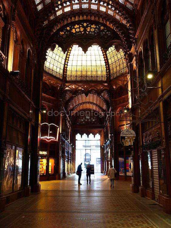 Párizsi Udvar (Paris Arcade), Budapest, Hungary.