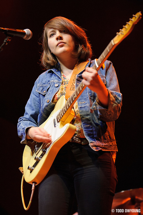 Caitlin Rose opening for the Old 97s at The Pageant in St. Louis, Missouri on January 31, 2012.