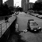 """The neighborhood suffered the same blight as the rest of the city in the '70s and early '80s. But now, despite lingering hints of Russian mafia-style lawlessness (as one New York cop reportedly put it, """"It is much easier to deal with a criminal who breaks the law than with a person who doesn't know that the law exists""""), crime has been on a downward trend in the last ten years. Robberies are down to 63 from 83 this time last year; and felony assaults are up slightly, at 43."""
