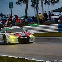 #6 Stevenson Motorsports Audi R8 LMS GT3: Connor De Phillippi, Andrew Davis, Robin Liddell