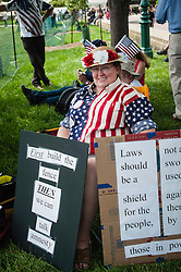 Tea Party Patriots Anti-IRS & Anti Illegal Immigration demonstration on Capitol mall, Washington, DC  Major speakers included Glenn Beck, Rand Paul and Michelle Bachman.  Crowd estimate between 10,000 - 15,000. (JUNE 19, 2013)