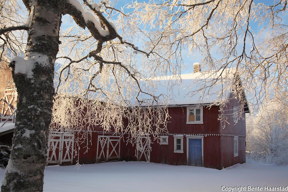 Old houses in Selbu, Norway.