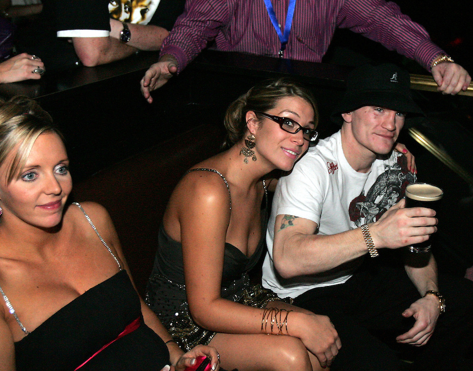 Ricky Hatton at the after party. Ricky Hatton v Floyd Mayweather, Las Vegas, Nevada.