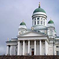 Europe, Finland, Helsinki. Helsinki Cathedral.