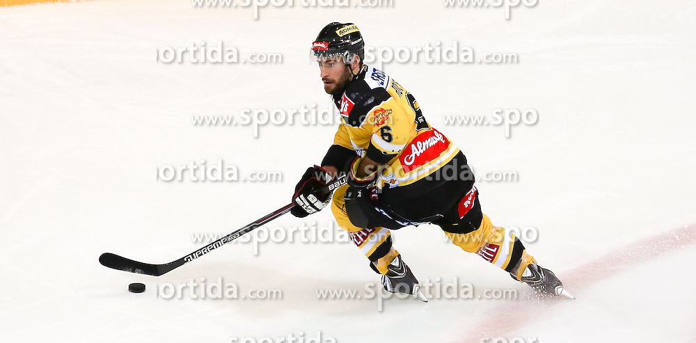 28.12.2015, Albert Schultz Halle, Wien, AUT, EBEL, UPC Vienna Capitals vs EC VSV, 36. Runde, im Bild Rafael Rotter (Vienna Capitals) // during the Erste Bank Icehockey League 36th round match between UPC Vienna Capitals and EC VSV at the Albert Schultz Halle in Vienna, Austria on 2015/12/28. EXPA Pictures © 2015, PhotoCredit: EXPA/ Alexander Forst