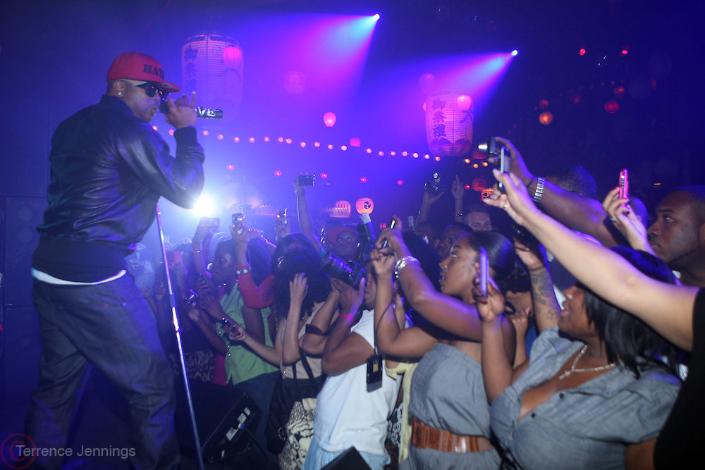 The Dream performs at ' Rising Icons ' featuring The Dream presented by Grey Goose, Complex Magazine & BET held at The Hiro Ballroom on July 30, 2009 in New York City