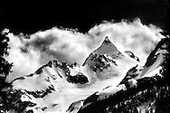 Mount Matier in Joffre Lakes Provincial Park, Squamish-Lillooet Regional District, British Columbia, Canada