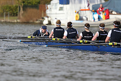 2012.02.25 Reading University Head 2012. The River Thames. Division 1. Headington School Boat Club W.Sen8+