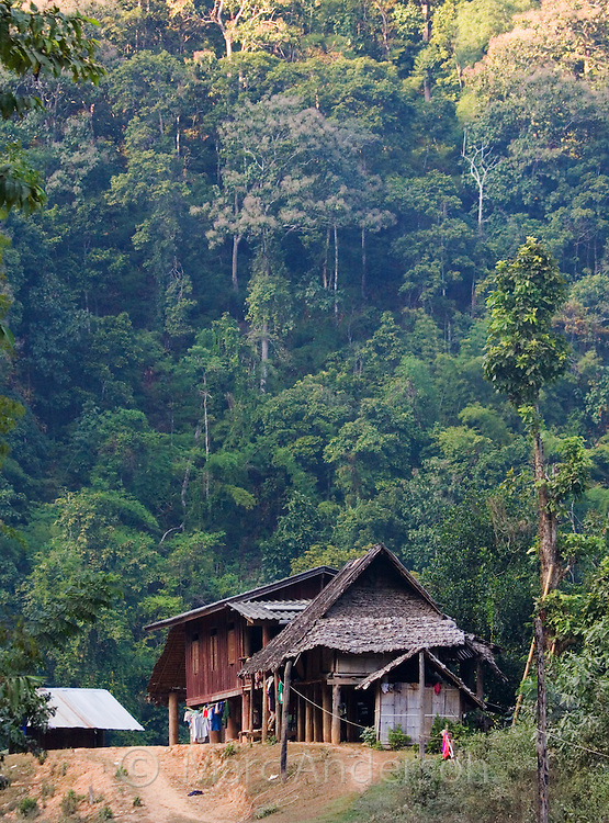 Mae Sam Laep, a Karen refugee settlement near the Burmese border in Mae Hong Son Province, Thailand
