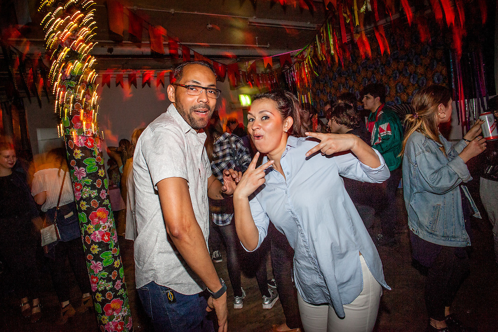 Love Carnival returns to the Bussey Building with a true pioneer from the Global Bass movement, producer and DJ Uproot Andy, flying in from Brooklyn. If that wasn&rsquo;t enough, the second international guest on the line up is Cucurucho, the co-founder of Radio Groovalizacion and purveyor of the finest vintage sounds and tropical bass.<br /> <br /> As ever, the Love Carnival familia Selecta Madmax, DJ Cal Jader will be bring the hypest Tropical Bass, Global Beats, Carnival Vibes, and Dancehall Riddims. London, Fri. 17 June, 2016. (Photos/Ivan Gonzalez)