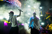 Chance The Rapper and R. Kelly at Lollapalooza 2014.