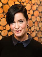 """OSLO, 201512: Pressemøte med artister fra TV2-suksessen """"Hver gang vi møtes"""" foran premieren lørdag 3. januar. Lene Nystrøm. FOTO: TOM HANSEN"""