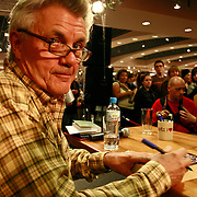 John Irving american writer on meeting with his polish readers in Warsaw Poland