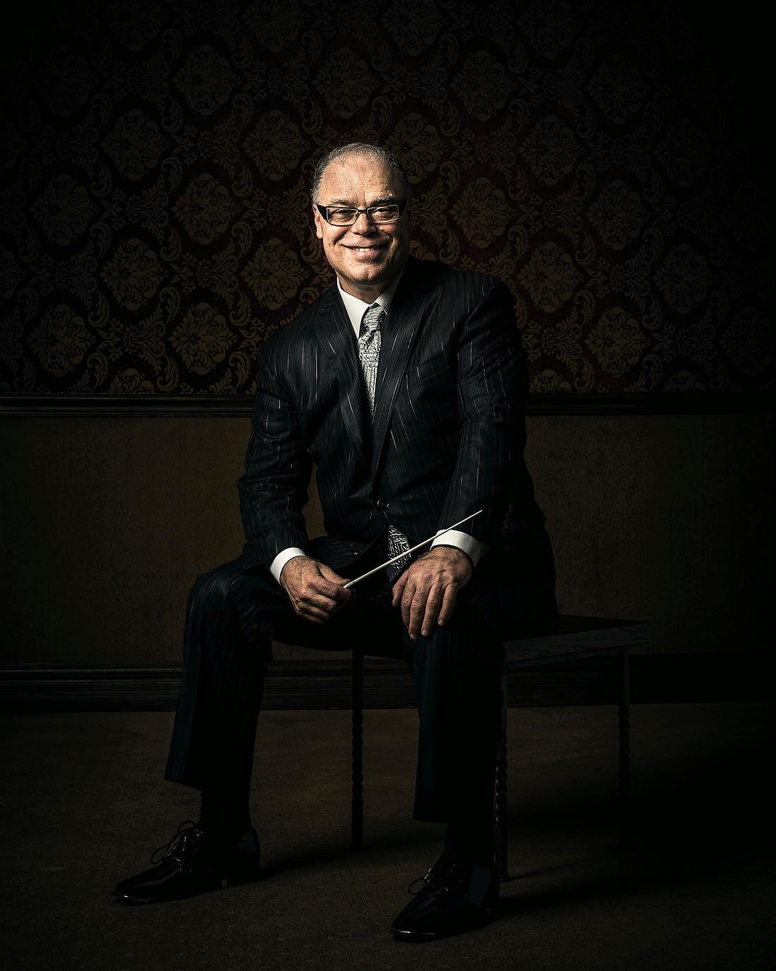 Jeff Tyzik World-Renowned Pops Symphony Conductor / Arranger and Jazz Trumpet Soloist. — © Jeremy Lock/