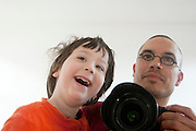 Vader en zoon.<br /> <br /> Father and son.