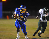 Oxford High's Mont Dean (22) runs vs. West Point in Oxford, Miss. on Friday, October 28, 2011. West Point won 31-21...