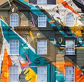 Marmite graffiti mural, Megaro Hotel, London