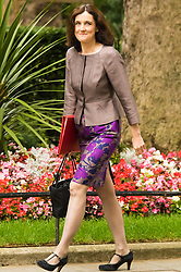 Downing Sreet, London, July14th 2015. Northern Ireland Secretary Theresa Villiers arrives at 10 Downing street for the government's weekly cabinet meeting.